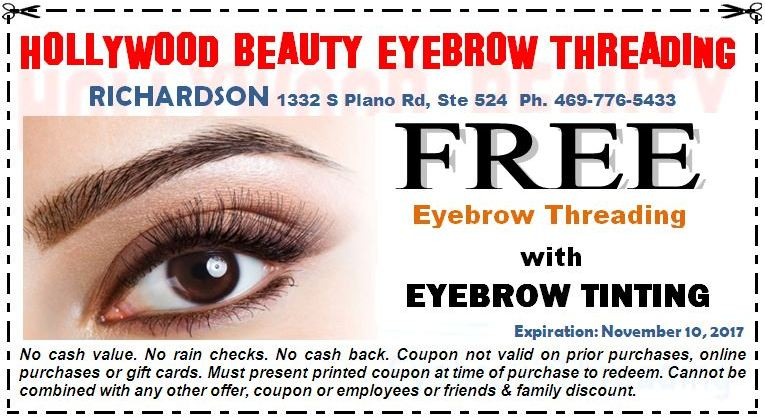Hollywood Beauty Eyebrow Threading Salon In Carrollton Tx